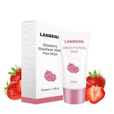 <b>LANBENA Strawberry Blackhead Remover</b> Nose Mask MUD FRER ...