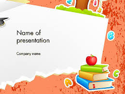 Education Background For Powerpoint School Theme Background Powerpoint Template Backgrounds 14424