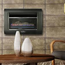 duluth forge ventless linear wall gas fireplace 26 000 btu t stat model