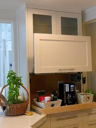 Kitchen Tambour Door Kit Keep It Out Of Sight In An Appliance Garage Artful Kitchens