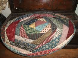Alfa img - Showing > Round Quilted Table Toppers & Primitive ... Adamdwight.com