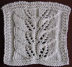 Leaf Knitting Pattern Impressive Leafdrop Skyline Chilly