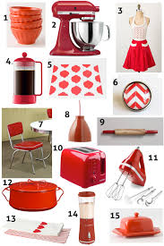 Retro Kitchen Decor Accessories kitchen accents and accessories red kitchen decor ideas home 16