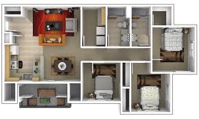 3 bedroom apartments plan. 3 Bedroom · Floor Plan » Apartments