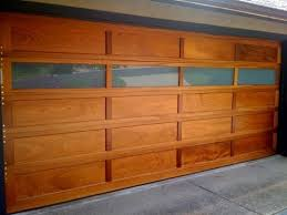 Contemporary Wood Garage Doors With Windows Door Window Inserts Old Throughout Impressive Design