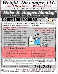 Make It Happen Monday The Importance Of Sleep Get Sleep To