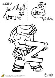 Coloriage Alphabet Sur Hugolescargot Com