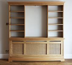 radiator cover with bookcase