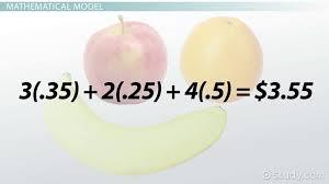 using mathematical models to solve problems lesson transcript study com