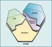 Scfta Segerstrom Hall Theater Seat Map Theater Seating