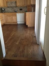 red oak floor stained minwax dark walnut
