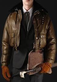 burberry nappa leather down filled mink collar er jacket upscalehype