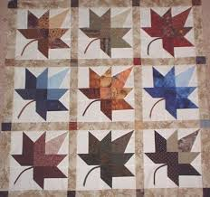 7 best Fall quilts images on Pinterest | Fall, Autumn leaves and ... & Autumn Leaf Quilt, from a template by Roy and Wendy Bland - the basic leaf Adamdwight.com