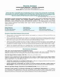 Occupational Therapy Resume Examples Awesome Resume Samples Program