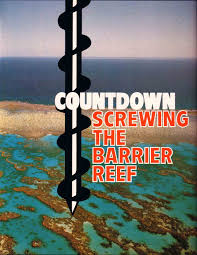 Image result for mining the barrier reef cartoon