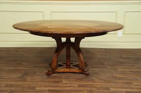 incredible 46 inch round dining table and double pedestal tables extra large jupe trends pictures