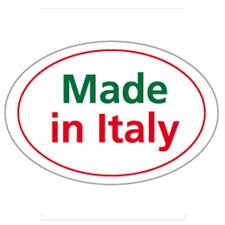 Etichetta Adesiva Ovale Made in Italy - Eurofides