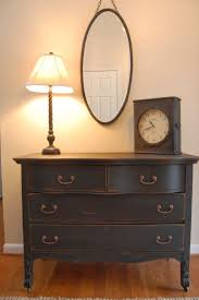 Painting Old Bedroom Furniture 17 Best Ideas About Black Painted Dressers On Pinterest Black