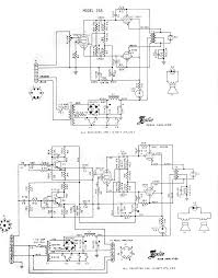 leslie amplifier schematics leslie 258 the stationary pedal section of the two speaker thomas organ set contains two 40w leslie tube amps