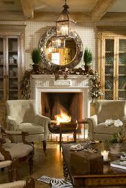 Glowing Firewhite Mantel Weihnachtlich Dekorieren