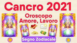Cancro ♋❤️💌 Oroscopo 2021 🔮 Amore, Lavoro, Novità 🌟 Lettura Tarocchi -  YouTube
