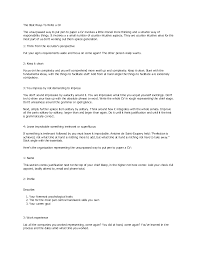 ... Luxurious And Splendid How To Write The Best Resume 9 Sample Cv Legal  Social Worker Dayjob ...