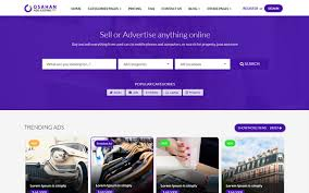 Template For Advertising Osahan Ads Listing Template Wrapbootstrap
