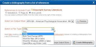 3. Generating Bibliographies (Legacy) - Citing Your Sources ...