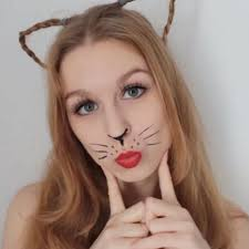 cat face makeup easy