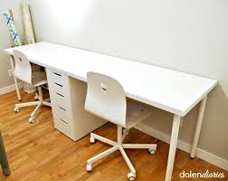 two person desk home office. 2 Person Desk Home Office Create A Two Workstation Quickly And Inexpensively Desktop Window Manager