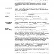 Alberta Commercial Triple Net Lease Agreement Legal Forms And ...