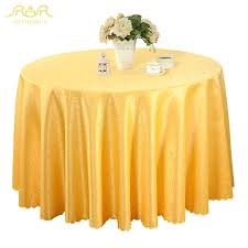 new round table cloths solid color wedding tablecloth gold red purple white runner gold round table