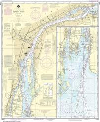 Noaa Nautical Chart 14848 Detroit River