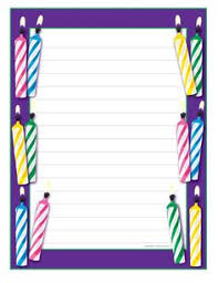 pin by vero on writing paper birthday writing paper