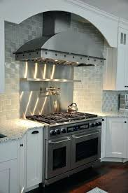 metal range hood kitchen elegant finishes for hoods brooks custom home interior diy cover metal range hoods