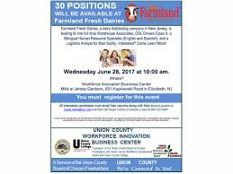 union county freeholders announce 30 new jobs available through wib center for county residents westfield nj patch