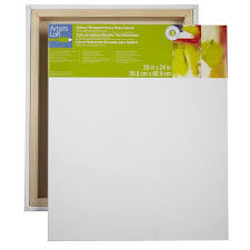 Canvas Sizes Chart Gallery Wrapped Heavy Duty Canvas Level 3 By Artists Loft