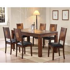 Dining Table Set Extendable With Solid Rubberwood Base Lazada