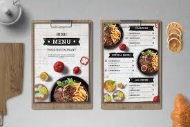 Food Menu Design 50 Best Food Drink Menu Templates Design Shack