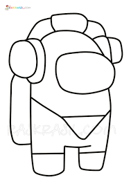 Coloring pages for cartoons ➜ tons of free drawings to color. Among Us Coloring Pages 190 Best Coloring Pages Free Printable