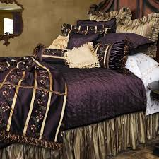 purple comforter set king within look at this bedding it s majestic or maybe over the
