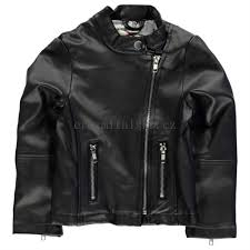 heatons pu biker jacket child girls 97959103 black levně prodat