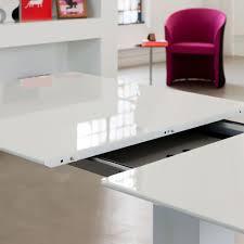Esstisch Ausziehbar Weiß Glas