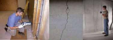 fixing cracks in basement walls. Columbus Basement Crack Repair And Fixing Cracks In Walls
