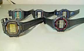5X VINTAGE CASIO Digital Watches W 86 W 70B W 59 W 78 W 725 All Original  Running - $52.60   PicClick