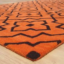 amazing of orange area rug geometric style modern grey orange area rug adc rugs wonderful orange area rug bungalow rose ameesha blueorange