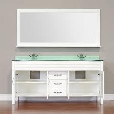 90 Bathroom Vanity Bath Elite Collection Aw 082 60 W White Double Modern Bathroom
