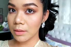 daytime glam makeup for acne e skin beauty