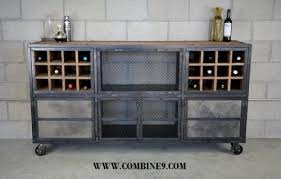 urban industrial furniture. Liquor Cabinet/Bar - Vintage Industrial, Urban Modern Design. Buffet Industrial Furniture