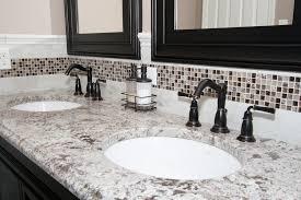 astounding small bathroom remodelers ideas feauring grey granite countertop connected tile backsplash combinated klip corner edge astounding small bathrooms ideas